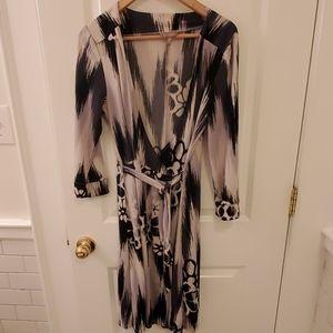OLD Navy Wraparound Dress Size Large